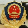 铝合金材质警徽生产销售-制作质监局徽