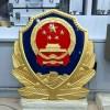 公安警察院警徽制作-生产警徽厂家